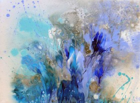 Blue Splashes