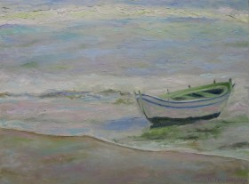 A Seascape with a Boat