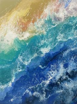 Seascape Sea Spray