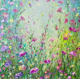 Pink and Lilac Flora