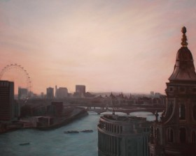View of London from St. Paul Cathedral
