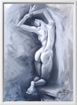 Nude Black and White