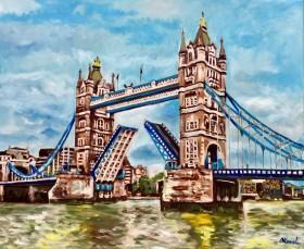 London Tower Bridge. River Thames