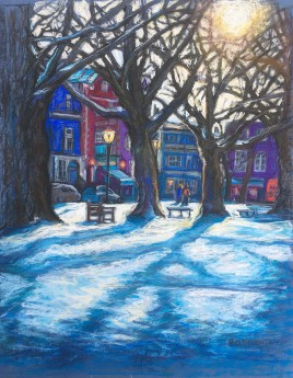 Richmond Green snow