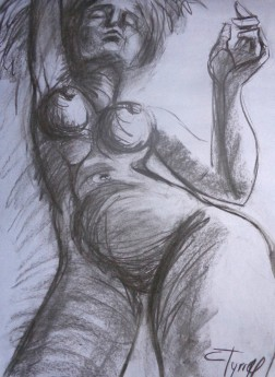 perspective nude drawing