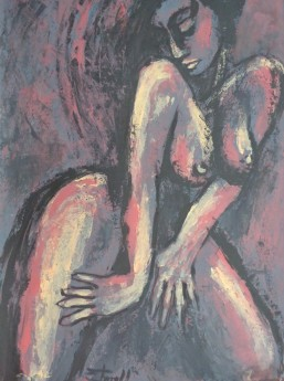 frontal female nude