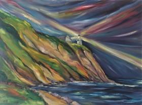 The Light of Blackhead Lighthouse