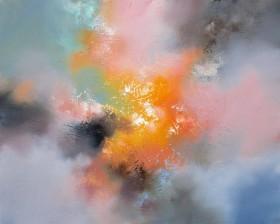 colour feel good abstract sun