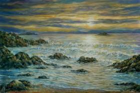 Seascape front view.