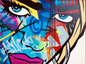 Urban pop art