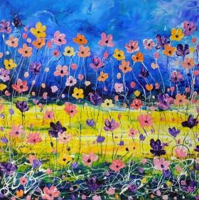 impasto flowers