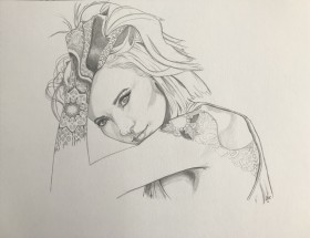 Tattooed Girl 2