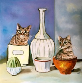 Still Life with Cats