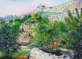 Outside the City Wall, Jerusalem