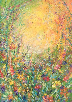 Abstract Meadow on Paper
