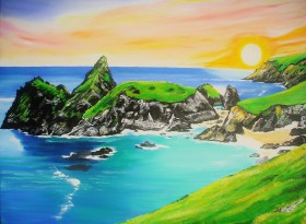 Kynance Cove, Cornwall Revisited