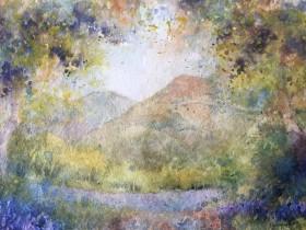 Bluebells near Malvern image size 14 in x 10 in