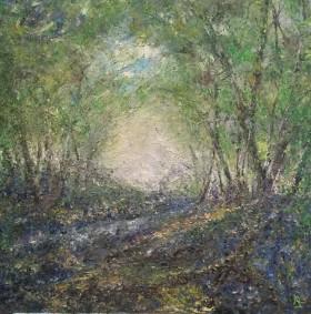 Dusk Bluebell Wood