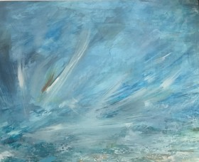 Light in a Storm oil painting