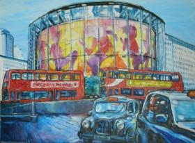 The Imax near Waterloo Station