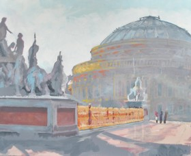 Albert Hall Painting on Canvas