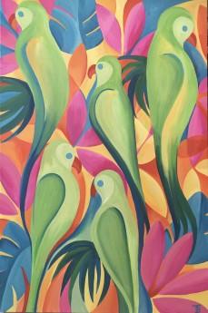 A Tropical Parrot-Dise!