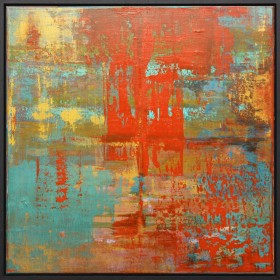 Gerhard Richter style painting
