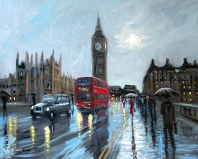 A Wet Day In London