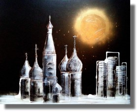 Moonlit Moscow