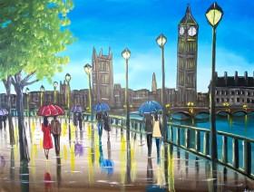 Blue Skies In London 5