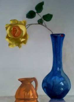 Blue Vase 1