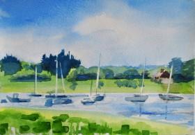 Chichester Harbour summer