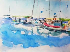 Fishing Boats Astypalea