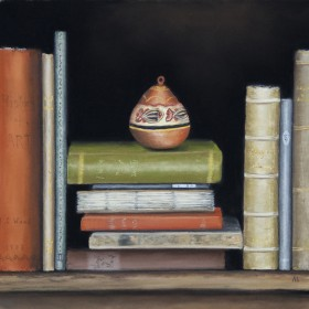 A Still Life With Books
