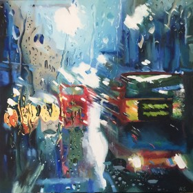 London Buses Painting