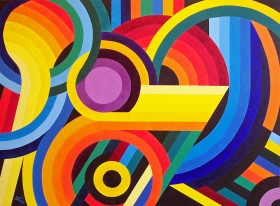 Circles, Curves and Colour