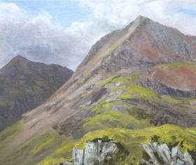 Crib Goch, mountains, Snowdonia