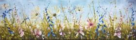 panoramic flower painting