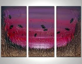 Damson Triptych