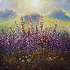 Floral Landscape Dawn