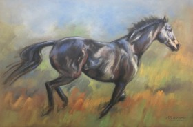 Thoroughbred Horse Art
