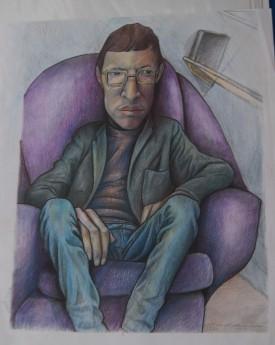The purple chair