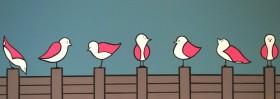 seven birds'