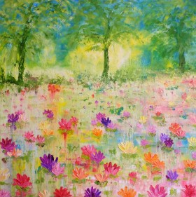 Vibrant Lilies 2