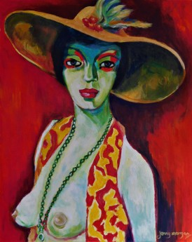 #portrait #abstract #fauve #nude #erotic #vintage #period #