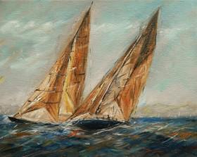 Sailing in Weymouth