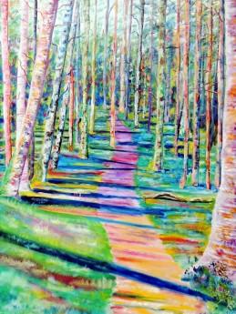 Wilderness artworkScottish HighlandsScottish landscapeArt from Scotland