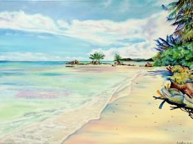sandy shore
