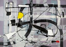 Expressive automatism abstract 912