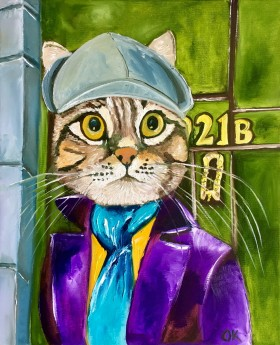 Troy The Cat Sherlock Holmes  #3